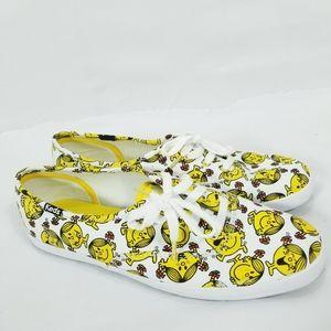 Keds Little Miss Sunshine Canvas Sneakers emoji